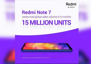 Xiaomi's Redmi Note 7 sold 15M units