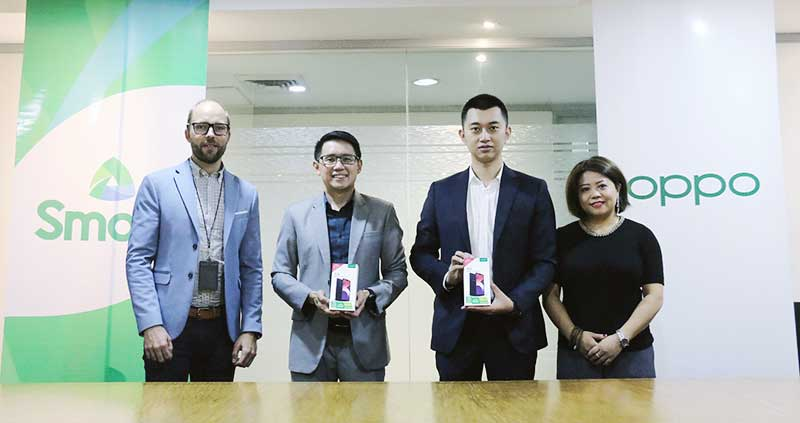 You can get OPPO Smart A3s for only P5,990 at Smart; it comes with FREE LTE SIM