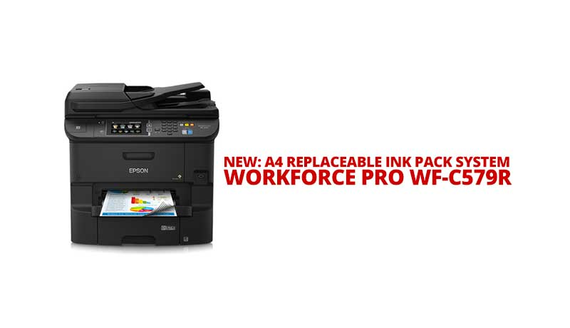 Photo of Epson launches new A4 Replaceable Ink Pack System (RIPS), WorkForce Pro WF-C569R business inkjet printer