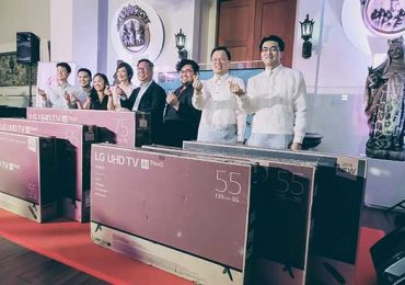 LG PH unveiled new OLED TVs alongside with the donation of 6 TVs to Museo de Intramuros