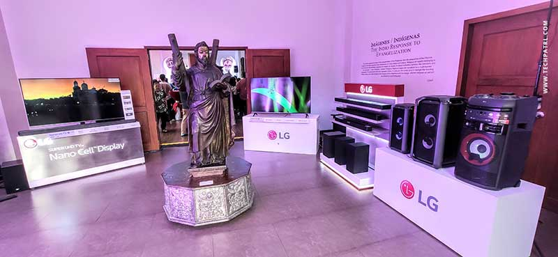 lg donates tv to museo intramuros