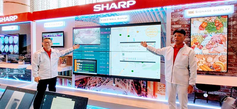 Sharp PH showcased 2019 products & solutions