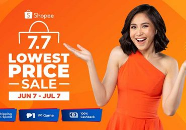 Up to 90% off during Shopee 7.7 Sale