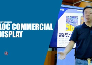 AOC is brining its Commercial Display line up in the Philippines