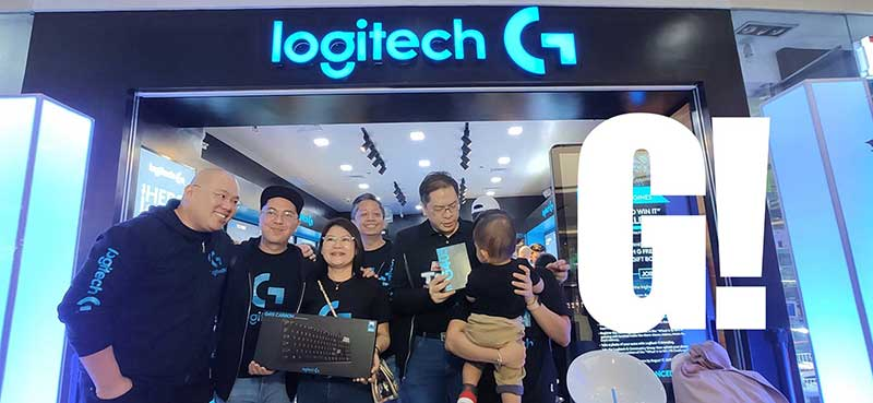 Logitech G Concept Store opens in PH