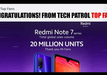 Xiaomi celebrates 20M sales of Redmi Note 7 globally