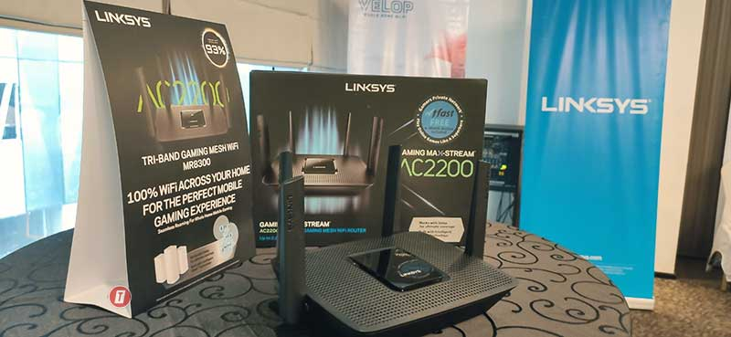 Linksys Triband Gaming Router