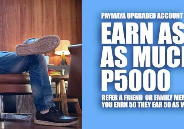 Just go cashless with PayMaya and earn up to P5000!