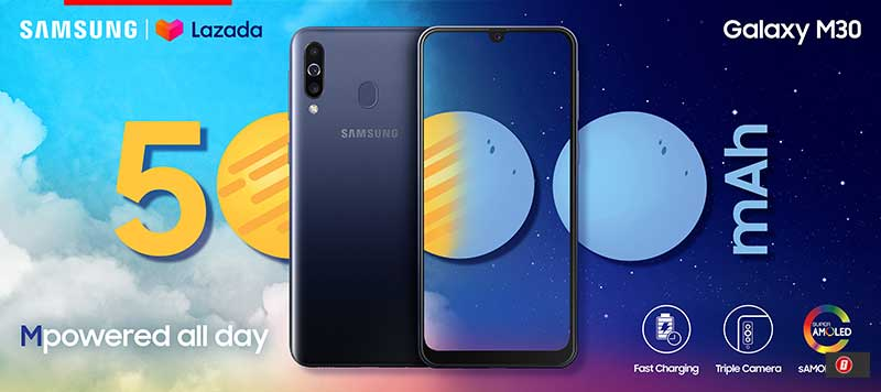 Samsung Galaxy M30 now available