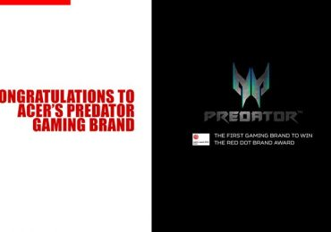 Acer's PREDATOR becomes the first gaming brand to win Red Dot Award