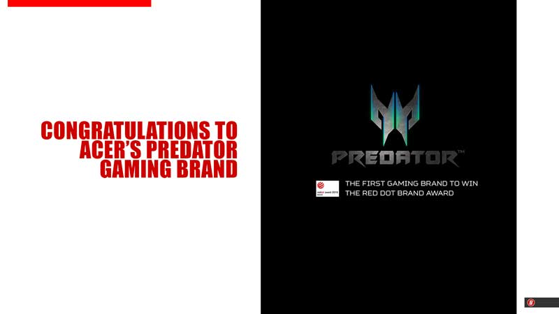 Photo of Acer's PREDATOR becomes the first gaming brand to win Red Dot Award