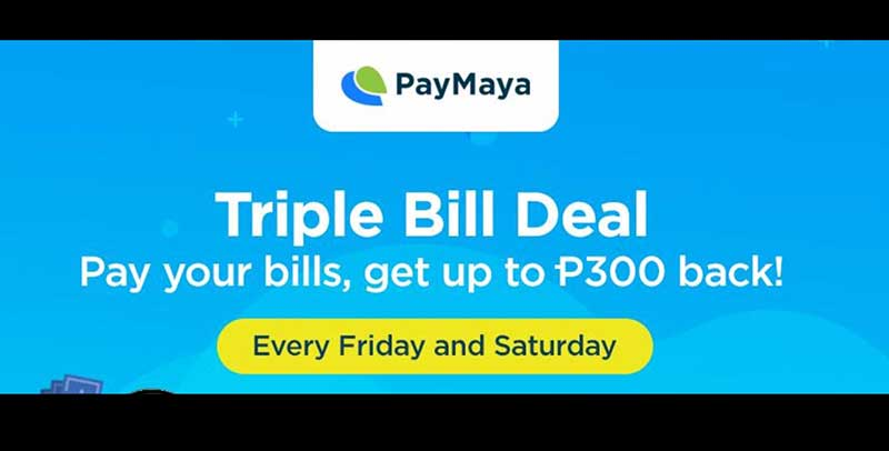 Photo of Pay your bills on Fridays using PayMaya and get P100 cash back!