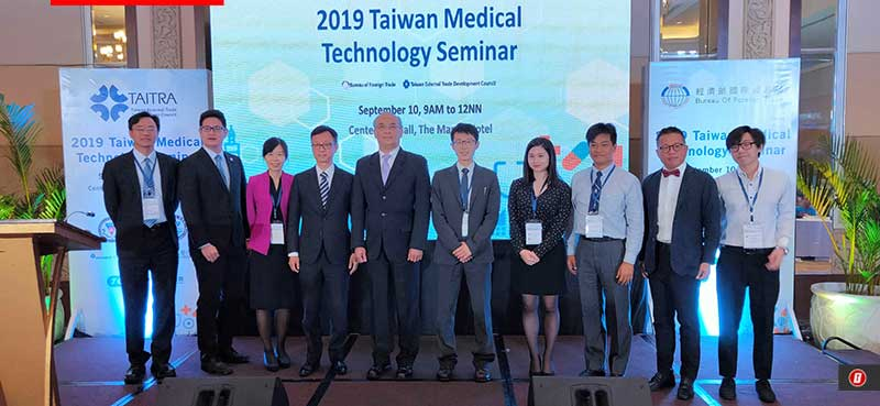 Photo of 2019 Taiwan Medical Technology Seminar open doors for Filipino patients