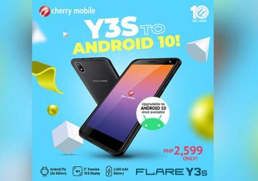 Flare Y3s: Ready to go Android 10