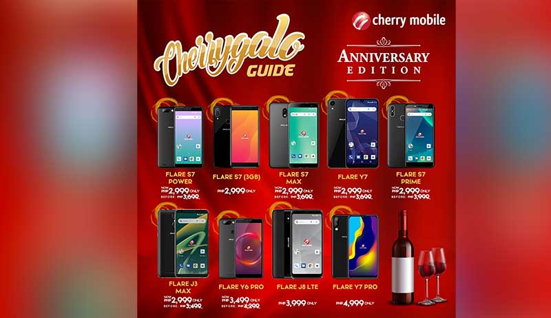 This is the CHERRYGALO Guide: phone for as low as P2,999