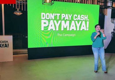 PayMaya to the world: Don't pay cash, Paymaya!