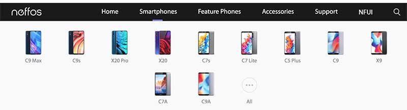 neffos smartphone