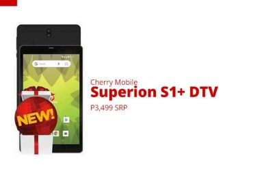 Budget Tablet with Digital TV: Cherry Mobile Superion S1+ DTV