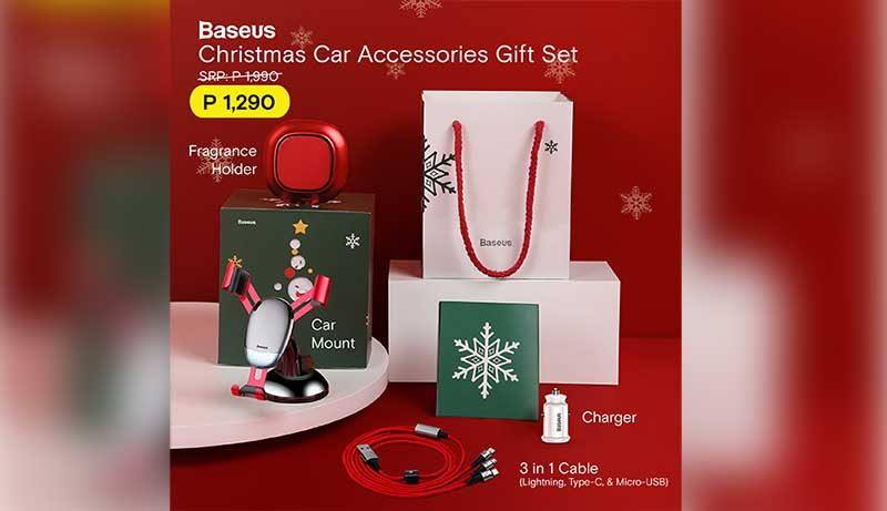 Baseus Christmas Car Accessories Gift Set now available!