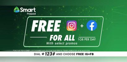 Smart, TNT unveils FREE Instagram and Facebook for All with prepaid promos