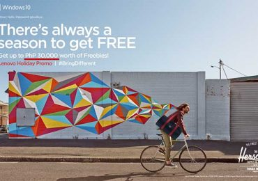 Up to P30k FREE items with Lenovo Holiday Promo