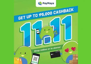 Don't pay cash, PayMaya this 11.11 Grand Shopping Day!