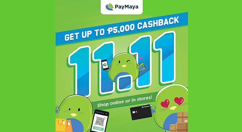 paymaya 11 11 shopping