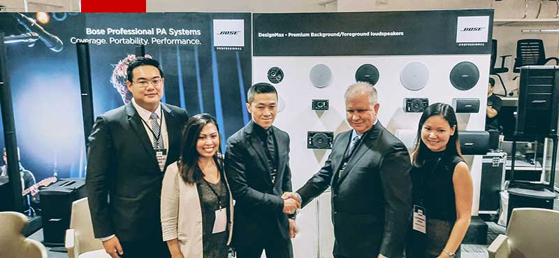 BOSE Professional appoints Versatech International Incorporated as distributor in PH