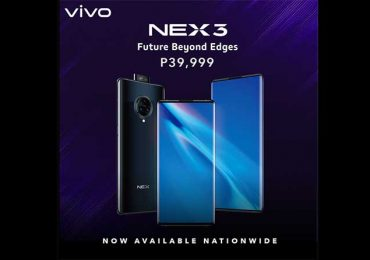 VIVO Flagship NEX 3 now available in all Vivo stores, Lazada and Shopee
