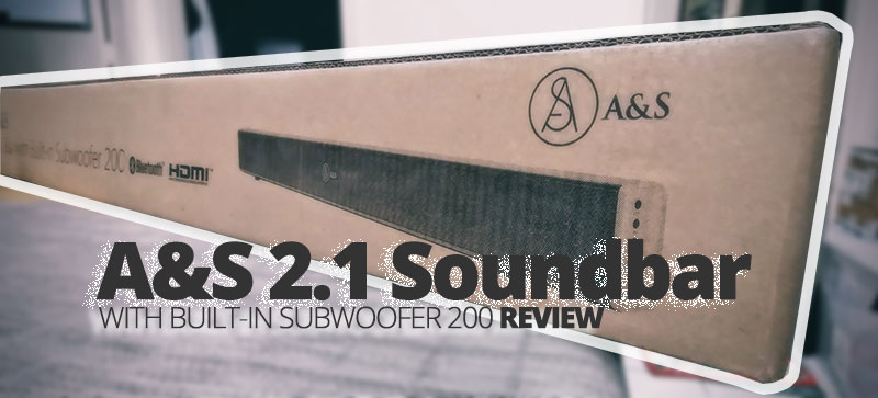 Photo of A&S 2.1 Soundbar with Built-In Subwoofer 200 Review