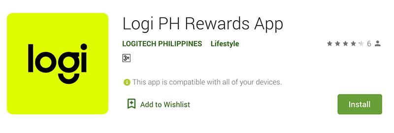 Logi Rewards App