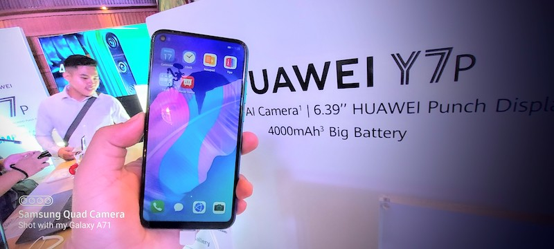 Huawei Y7P Review Philippines