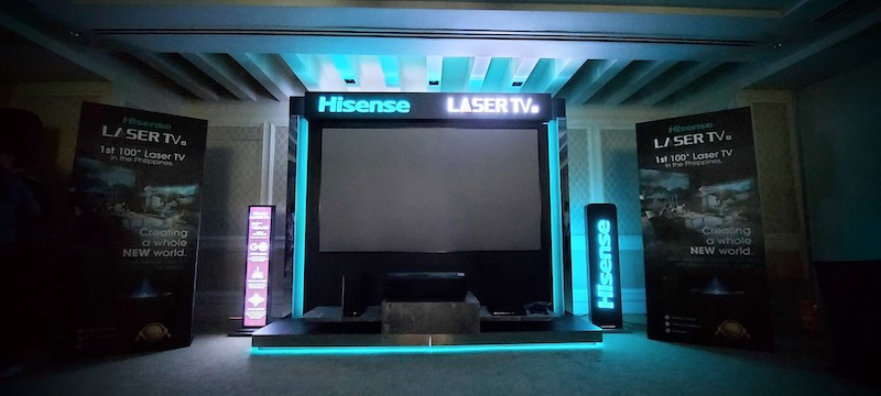 hisense 4k laser tv