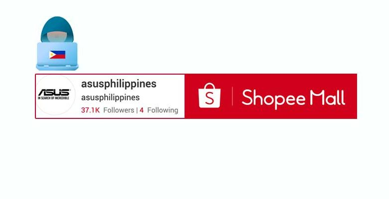 asus shopee store