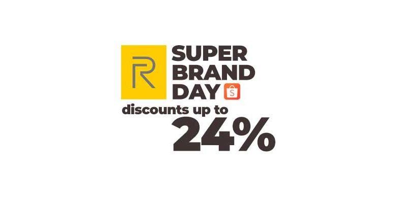 realme shopee super brand day