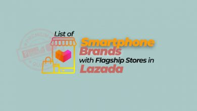 Photo of List: Smartphone Brands with Flagship stores in Lazada