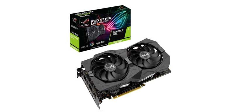 Asus ROG Strix GeForce GTX 1650 SUPER OC Edition 4GB Graphic Card