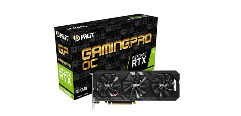Palit NVIDIA GeForce RTX 2070 SUPER Gaming Pro OC Edition 8G Graphic Card
