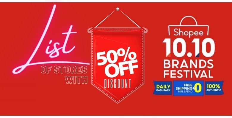 Shopee 10 10 Discounted Items