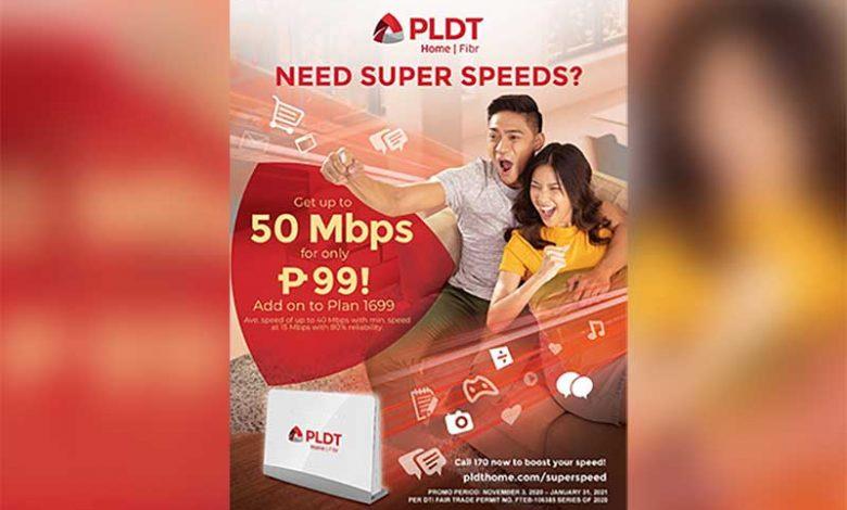 PLDT Super Speed Deal