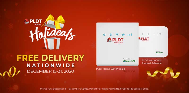 PLDT Home Prepaid WiFi Delivery