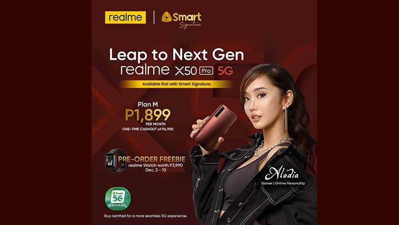 realme x50 pro 5g smart signature