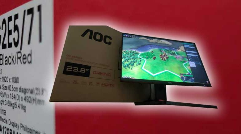 AOC 24G2E Gaming Monitor Review