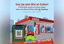 PayMaya Caltex Promo