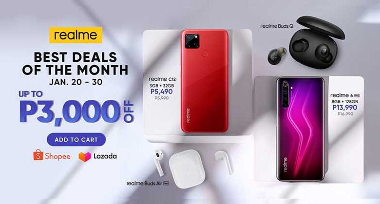 realme Best Deal of the Month: January