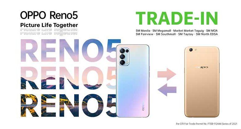 OPPO Reno 5 Trade In Program