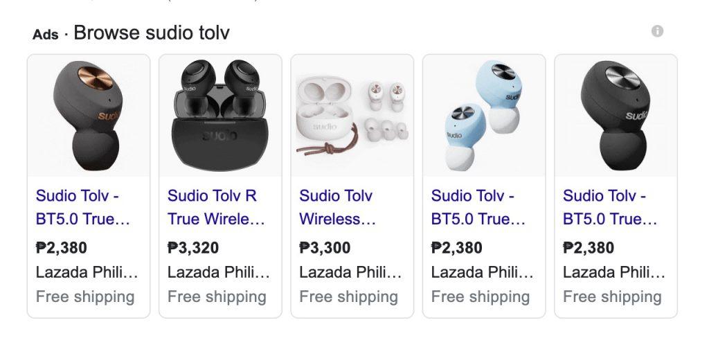 Sudio TOLV TWS Price Philippines