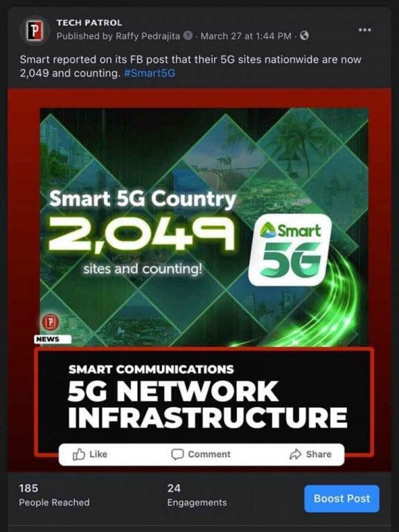 Smart 5G Sites Philippines