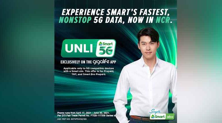 Smart Unli 5G Data