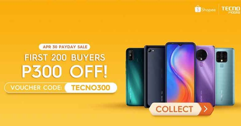 Tecno Mobile Payday Sale